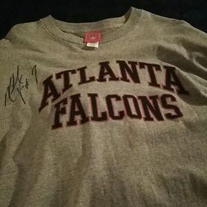 Autographed Vick Falcons